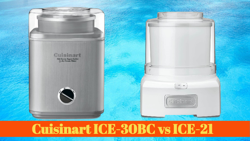 Cuisinart ICE-30BC vs ICE-21 – Is there a major difference?